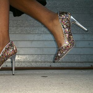 Shoes - 🔥BUY 2/FREE SHIP! Multi Color Sequin PUMP